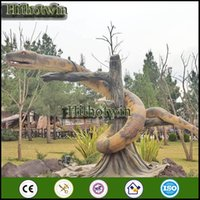 animated snake - by theme park dinosaur park playground museums Amusement Park Animated Silicone Rubber Moving Snake