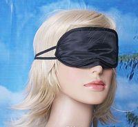 Wholesale High quality Eye Mask Shade Nap Cover Blindfold Travel Rest Skin Health Care Treatment Black Sleep Masks