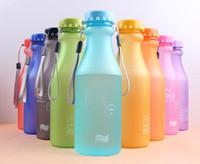 Wholesale New Hot Sale Portable Leak proof Bike Sports Unbreakable ml Plastic Water Bottle