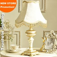 E27 bedside table lamp shades - Bedside reading room foyer sitting room living room decorative girl princess table lamp light with crystal fabric shade