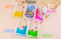 apple pc world - 2016 Floating glitter liquid hourglass Fish and Ocean World case for iphone s Hard Crystal clear Transparent PC cover
