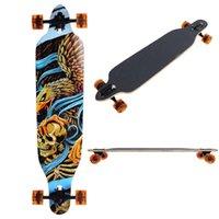 Wholesale Pro Longboard Complete quot Longer Cruiser Board Speed Skateboard Downhill Maple