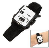 Wholesale Golf Score Stroke Keeper Count Watch Putt Counter Shot With Wristband