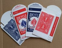 Wholesale Bicycle Card Box Red amp Blue Available Magic Card Accessories Close up Magic Tricks