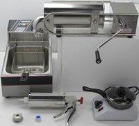 auto fryer - Auto L Churro machine fryer L Churro filler machine chocolate melt machie Spanish churro maker Stainless ateel machin