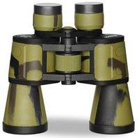w046 Telescopio Binocular 20x50 horas de alto HD ocular gran ejército verde de visión infrarroja no