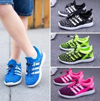 age b - Brand new Kids Boys Girls shoes Sneakers Breathable Mesh Sports Flat Running Children s Athletic Shoes COLORFUL Age Years drop shipping