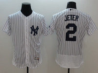 Wholesale New York Yankees Jersey Blank Derek Jeter Babe Ruth Lou Gehrig Mickey Mantle Men s Stitched Embroidery Logos Baseball Jerseys