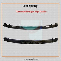 Wholesale small hino dump truck leaf spring for trailer volvo truck parts leaf spring suspension