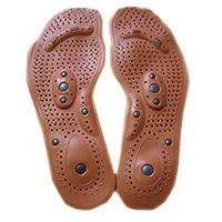 al por mayor masajeador de pies magnética-1 par magnético del imán terapia del cuidado de la salud del pie plantillas del masaje de los hombres / mujeres de solaz almohadillas de las patas Massager del cuidado de los hombres / mujeres