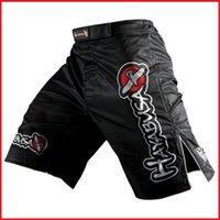 Wholesale Mens MMA Shorts Grappling Kick Boxing Short Muay Thai Pants Gym Wear