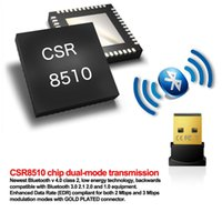 Wholesale Mini USB Bluetooth Adapter V Dual Mode Wireless Dongle CSR USB Per Windows Win Vista XP Nero