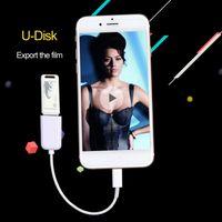 apple external drives - iphone external card reader PhotosiFlash Drive HD USB OTG Card Reader for cell phone iphone IPAD4 IPAD MINI IPAD AIR D