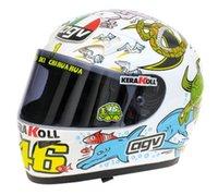 agv helmet - AGV K3 Continents Full Face Motorcycle Helmet AGV Valentino Rossi World Champion Valencia MotoGP Replica Helmet