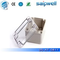 Wholesale Hot Sale Plastic Box Electronics DS AT ABS waterproof Plastic Box mm Transparent Lid