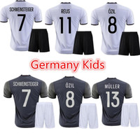 Wholesale Euro Germany home and away football clothes children suit Kids shirts Cute Kids Football Suit