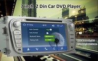 Wholesale New wince6 touch Screen din7inch Ford car dvd player with Bluetooh GPS ATV RDS support Golnass rear view camera input SD USB th