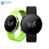 Wholesale New Arrival Uwatch smart band UW1 bracelet for IOS and android heart rate monitor smart watch band