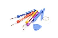 Wholesale 6 in REPAIR PRY KIT OPENING TOOLS With Point Star Pentalobe Torx Screwdriver For APPLE IPHONE S G G S S plus