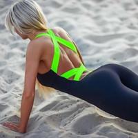 Offre de soumission! 2016 Combinaisons de sport de nouvelles femmes Body Shaper Yoga Slimming Sport Body Veste chaud Slimming Underwear Shapewear Hoodie siamois