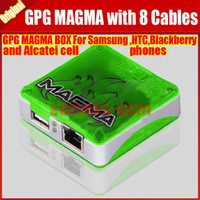 alcatel unlocked phones - 100 original Magma Box for HTC Samsung BlackBerry and Alcatel cell phones with cables