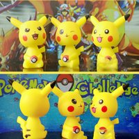 Wholesale 2016 Hot Sale Poke Pikachu Cartoon Car Interior Decoration Action Figures Toys For Free DHL XL T05