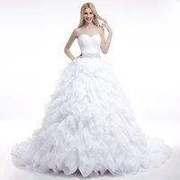 Wholesale Europe and America Fashion Bridal Gowns made of high Quality Crepe Georgette Wholesael Price