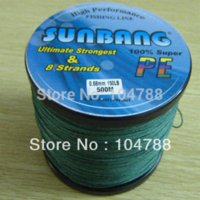 Wholesale Strands LB M Multifilament Braide Fishing Line Spectra Braid Fishing Line SUNBANG