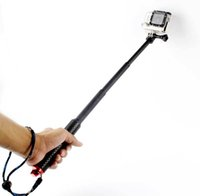 Wholesale Waterproof Retractable Handheld Monopod Selfie Stick Pole for Gopro Hero Selfie Accessories