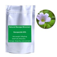 bacopa monnieri - 2016 pure nature Bacopa Monnieri Extract Powder Bacopaside g bag
