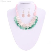 aventurine earrings - quot Cultured Freshwater Pearls Rose Quartz Green Aventurine Necklace Earrings