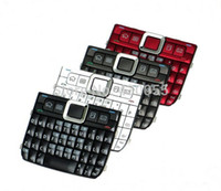 e71 red - White Black Red Grey New Housing Home Function Main Keypads Keyboards Buttons Cover For Nokia E71