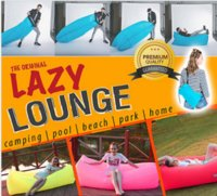 Wholesale Outdoor Convenient Inflatable Lazy Lounge Fast Inflatable Sleeping Beach Air Lay Bag Bed for Beach Camping