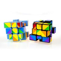 Wholesale Colorful X3X3 Puzzles Magic Cubes For Kids Children Learning Education Toys Speed Cubo Magico
