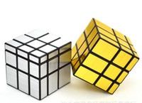 Wholesale Golden Silver Black Puzzle Mirror Cube x3x3 Cube Educational Toys Magic Dodecahedron Puzzle Game Magic Cube