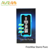 Wholesale Freemax Starre Pure ml Ceramic Tank First Ceramic Cover Coil Top AFC System Never Leak Design Original
