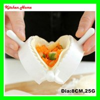 abs middle - Kitchen DIY Eco Friendly Make Dumplings Tool Jiaozi Machine Pastry Tool ABS Middle Dia CM Dumplings Maker Mold