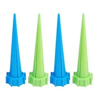 Wholesale 4 Automatic Garden Cone Watering Spike Plant Flower Waterers Bottle Irrigation Tips
