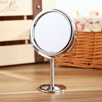 Wholesale Diameter Tabletop Two sided Swivel Vanity Mirror with x Magnification Suitable for Bedroom and Bathroom