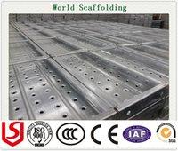 Wholesale Construction building bridge Material Metal plank Scaffolding