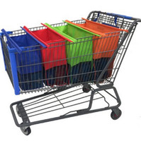 Wholesale Shopping Cart Trolley Bags Reusable Grocery Bags Easy to Use and Heavy Duty Variety of Colors and Sizes