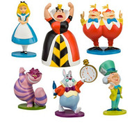 alice collections - 2016 set New item Alice in Wonderland Figure toys ALICE IN WONDERLAND collection figures toys for kids