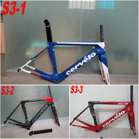 bicycling china - S3 road bike carbon Frames With styles design Made in China full carbon road bike frames k T1000 bicycle frameset