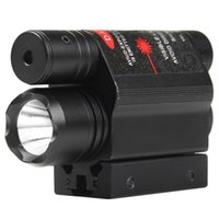 Wholesale Red Dot Laser Sight with LM LED Flashlight Rail Mount