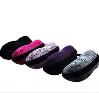 Wholesale Top Grade peanut Shaped Sunglasses Cases Fashion Packing boxes for Sunglasses colors Hot selling G003