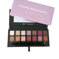 Wholesale 2016 ABH Modern Renaissance eye shadow Palette colors limited eye shadow palette with brush pink eyeshadow palette