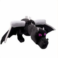 Wholesale MCFT Black Dragon Enderdragon Plush Toy Doll quot With Tag Best Gift For Kids