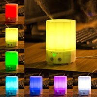 Wholesale Aroma ML Aromatherapy Essential Oil Diffuser Portable Ultrasonic Cool Intermittent Mist Aroma Friendly Hospitas Air Humidifier Purifier