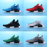 arrival boxes - Sales Promotion NMD HUMAN RACE Pharrell Williams X NMD Runner Shoes man women New Arrivals Summer Autumn Sneakers Without Box