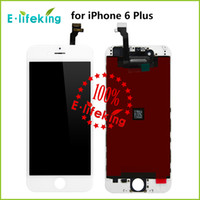 Wholesale 10PCS LCD Display Touch Digitizer Complete Screen with Frame Full Assembly Replacement For iPhone Plus inch